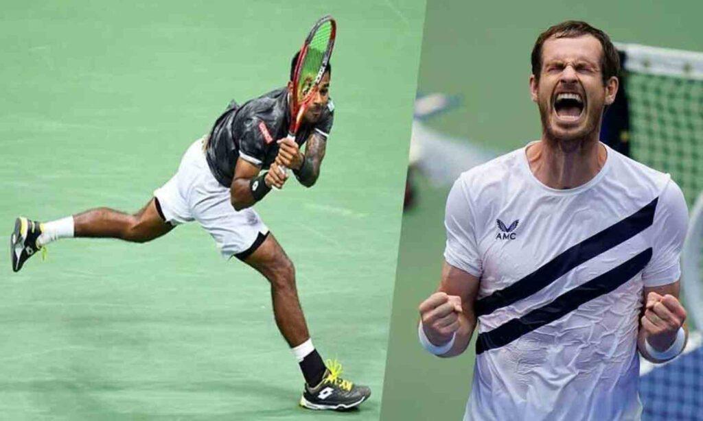 Sumit Nagal and Andy Murray