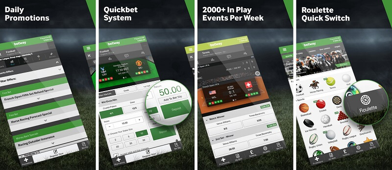 BetWay betting cricket