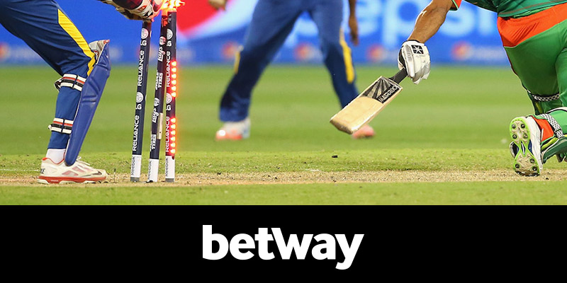 cricket on BetWay