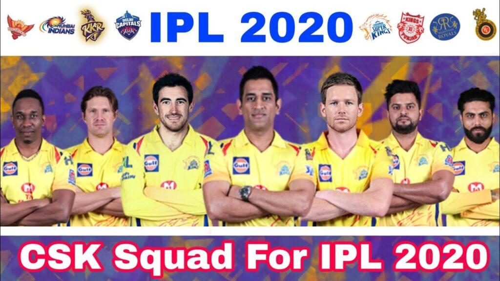 CSK on IPL2020
